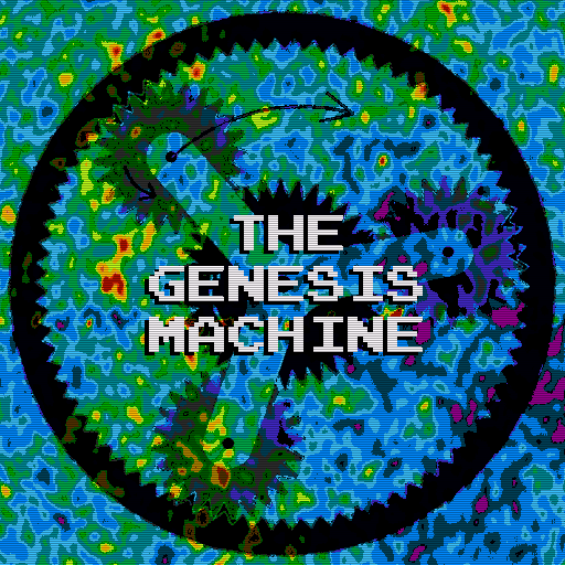 The Genesis Machine Covert Art